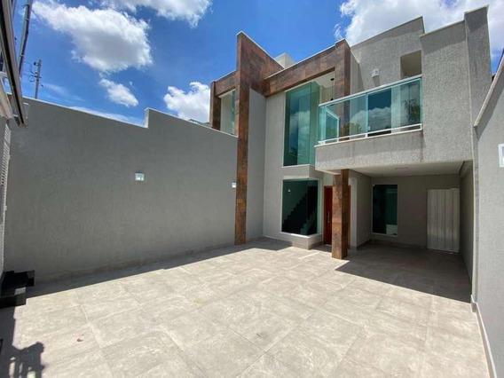 Casa Com 3 Quartos Para Comprar No Planalto Em Belo Horizonte/mg - 3733