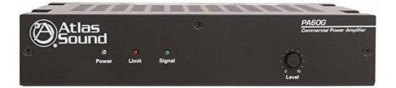 Amplificador Atlas Sound 60w 70v Amplificador ®