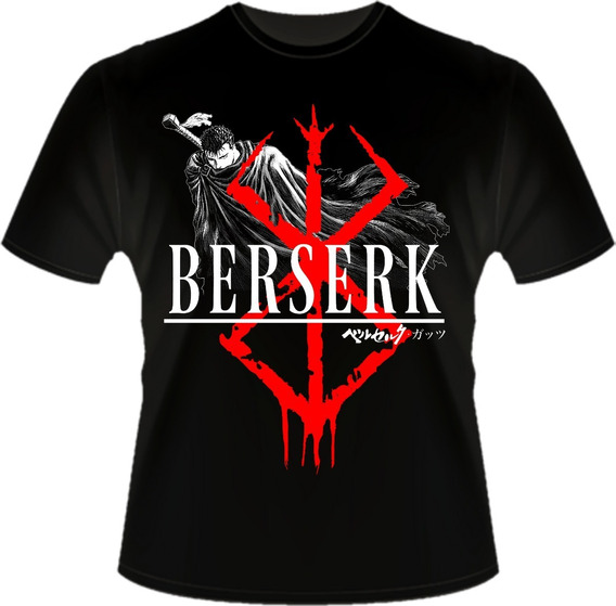 Camisa Berserk Camiseta