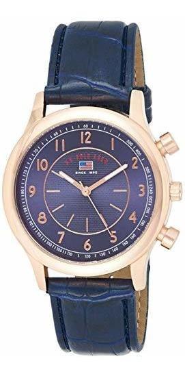 Polo Assn. Sport Us5218 Reloj De Hombre En Tono Dorado Rosa