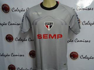 Camisa São Paulo Goleiro Cinza 2014 Rogério Ceni #sejasócio