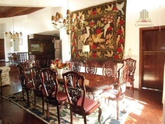 Casa Residencial À Venda, Chácara Das Pedras, Porto Alegre. - Ca0234