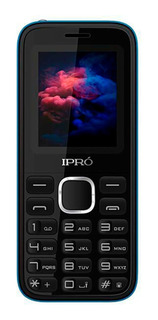 Celular Simples Idosos Ipro A8 Mini Preto E Azul 2 Chips Rádio Fm Câmera Mp3 Mp4 Vídeo