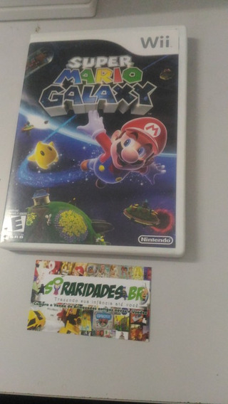 Jogo - Super Mario Galaxy - Nintendo Wii