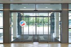 Puerta Automática Peatonal De Vidrio Tipo Aeropuerto