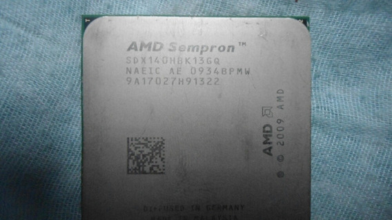 Prossesador Amd Sempron Sdx140hbk13gq 2.70ghzusada Cart Regs
