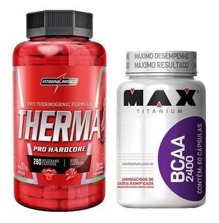 Kitdefinir Therma Integralmedica 120cp+bcaa Maxtitanium 60cp