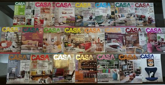 Coleção Revistas De Decoração E Arquitetura (50 Exemplares)