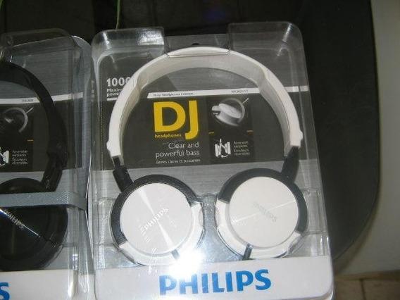 Headphone Philips Shl3000 Ajuste De Cabeça - Branco