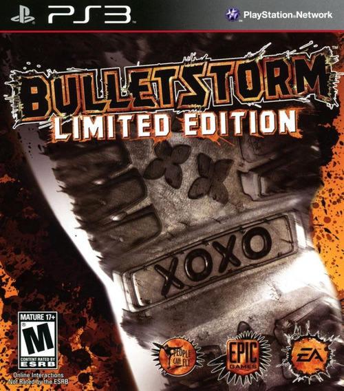 Jogo Bulletstorm Limited Edit Playstation 3 Ps3 Mídia Física