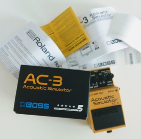 Pedal Boss Acoustic Simulator Ac3