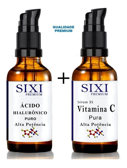 Vitamina C Pura + Acido Hialuronico Alta Potencia