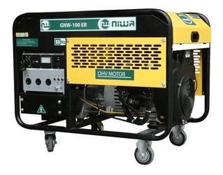 Generador 9,5kva 20hp Bicilíndrico Ae Ruedas Gnw-100-er Niwa