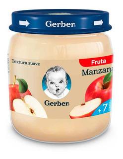 Gerber Pure De Manzanas Para Bebes 113 Gr