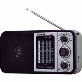 Radio Portatil De Mao Am/fm/usb/mp3 Tr849 Preto Semp Toshiba