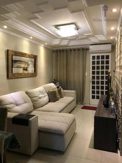 Casa 2 Dormitórios À Venda, 175m², Residencial Villa Borghesi, Cajuru Do Sul Em Sorocaba/sp - Ca0311