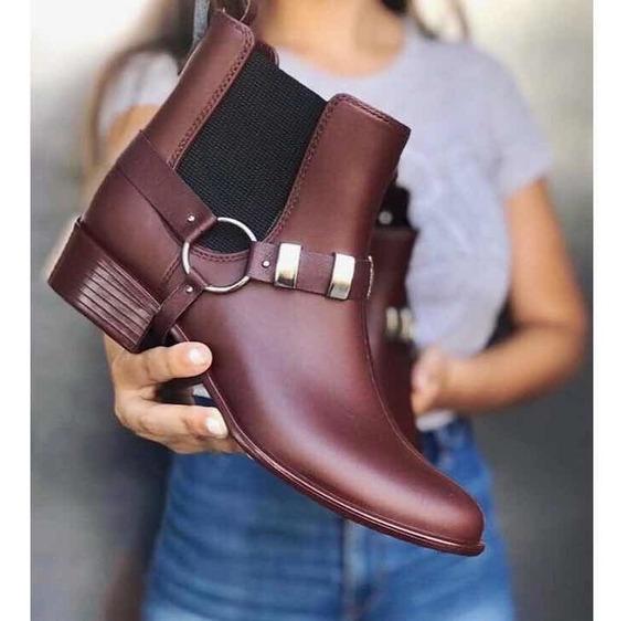 Zapatos Botas Mujer Liquidacion Tachas Otoño Invierno 2018