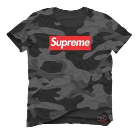 Camisa Camiseta Supreme Tradicional Camuflada T Shirt