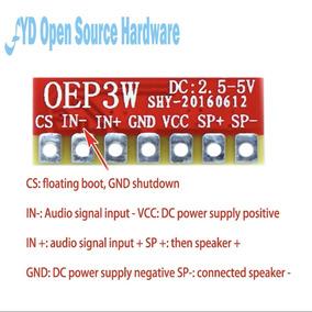 Amplificador De Audio 3w Ultra Micro Classe D