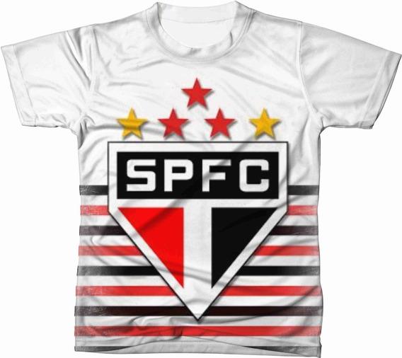 Camiseta Camisa Blusa São Paulo Futebol 004