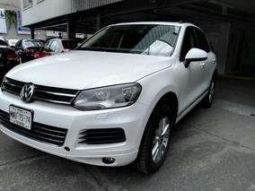 *volkswagen Touareg V6 Dsg 2013 Blanca