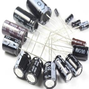 Capacitor Eletrolítico Varios Modelos E Valores Frete Grátis