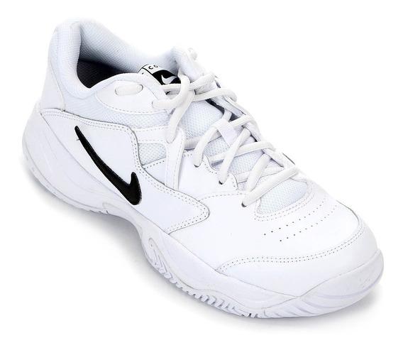 Tênis Nike Court Lite 2 Masculino - Branco/preto