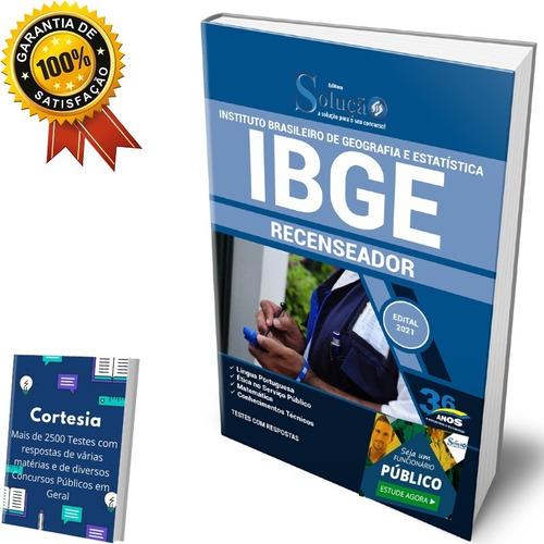 Apostila Concurso Ibge - Recenseador (solução)