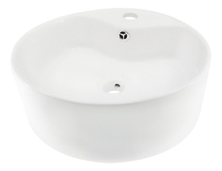 Moderno Lavabo Ovalin Modelo Dozza Cuerpo De Cerámica