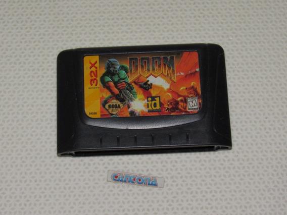 Doom 32x Original Mega Drive Americano