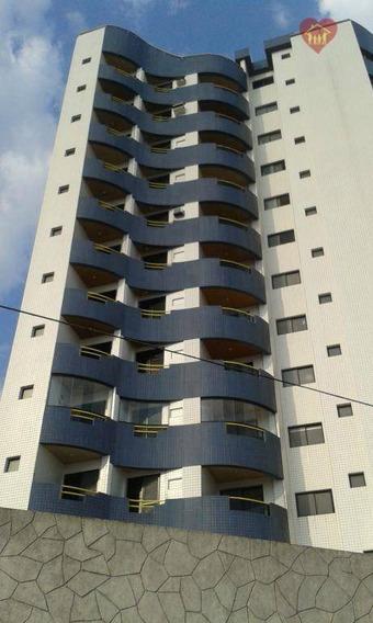 Apartamento Lindo, Pé Na Areia, Em Mongaguá, Venha Conhecer !!!!!!! - Ap0004