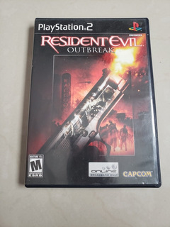 Resident Evil Outbreak File # 1 Para Ps2 Playstation 2