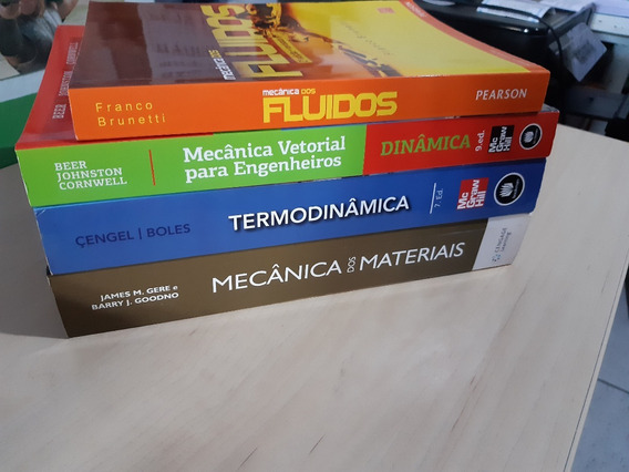 Termodinâmica , Mecânica Dos Fluidos, C.materiais , Dinâmica