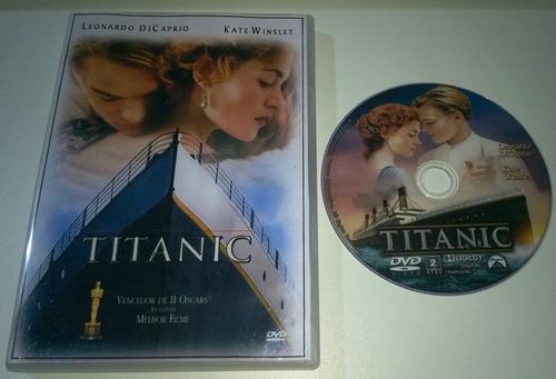 Imagem 1 de 4 de Dvd Titanic - 1997 - James Cameron - Dublado E Legendado