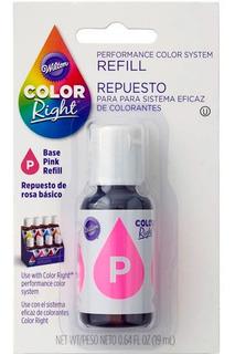 Colorante Rosa Wilton Color Right Concentrado - No Full