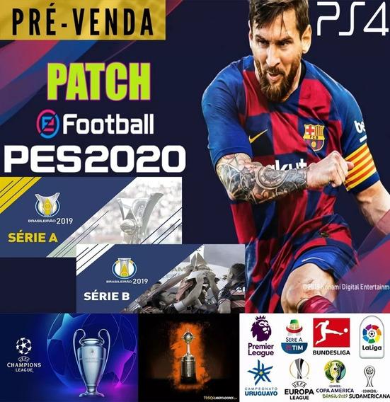 Patch Pes 2020 Ps4 Pc