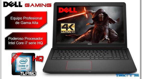 Laptop I7 Dell 4k Tactil Juegos Diseño Arquitectura Ingenier