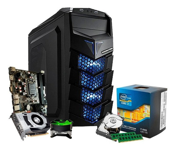 Pc Gamer I7 3.8ghz, Geforce 3gb 1060 Gtx, 16gb, Hd 1tb + Nfe