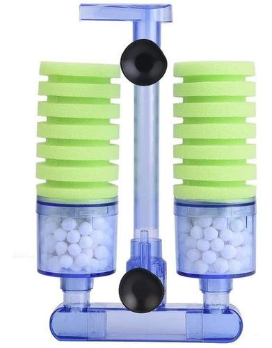 Imagen 1 de 10 de Filtro Acuario Gambas Pulmon Bacterias Material Filtrante L