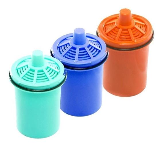 3 Repuestos Filtro Para Jarra Sense Purificadora Agua Dvigi
