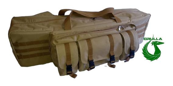Bolso Porta Rifles O Replicas Airsoft Paintball Caza Pesca