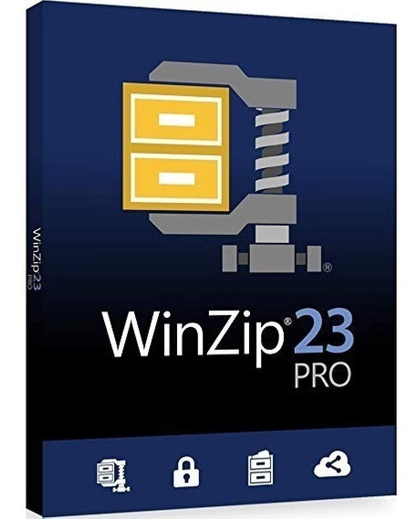 Winzip 23 Comercial 1pc 32/64 Bits Español