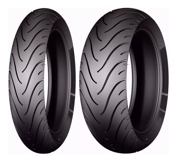 Par Pneu 140/70-17 + 110/70-17 Pilot Street Cb300 - Michelin