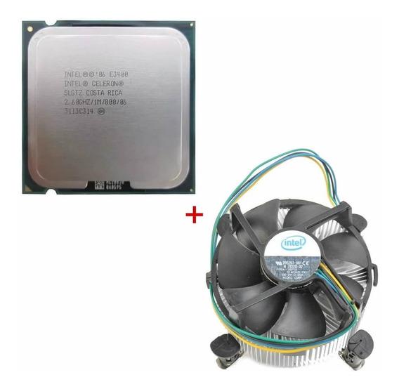 Processador Celeron Dual Core E3400 Com Cooler