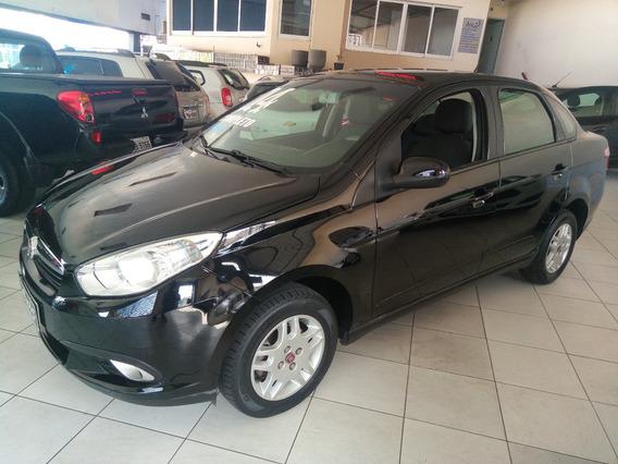 Fiat Grand Siena Attractive 1.4 Completo 2014 Preto