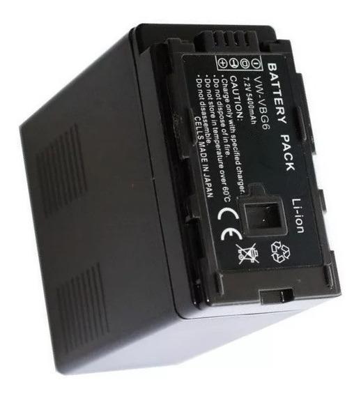 Bateria Estendida Vw-vbg6 Compatível Para Ag-hmc40 Ag-hmc40p