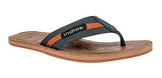 Indios Sandalia Baño Gris Textil Caballero Bth75866