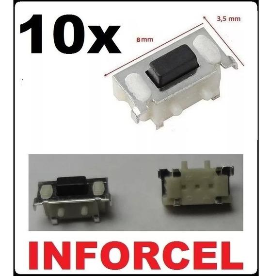 Atacado 10x Botão Power / Volume 8mm Tablet Gps Frete Barato