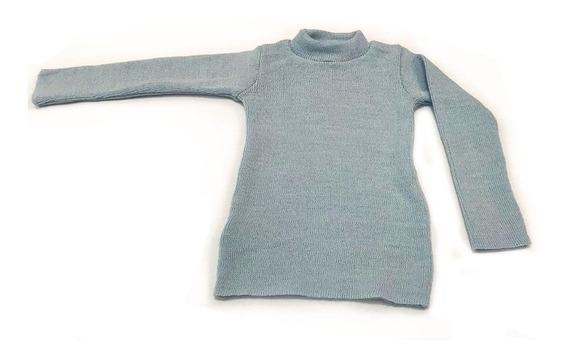 2 Blusas Básicas Cacharrel Infantil Lã Inverno Criança Unissex
