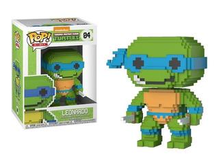 Funko Pop Turtles - Leonardo 8-bit Nro 04 - E11even Games